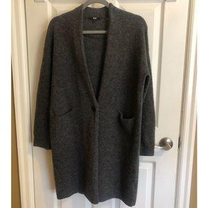 UNIQLO 100% Wool Cardigan/Jacket